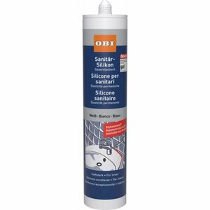 OBI Sanitär-Silikon Weiß 310 ml
