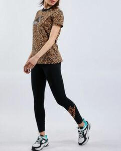 Nike SPORTSWEAR ANIMAL PRINT LEGGINGS - Damen lang