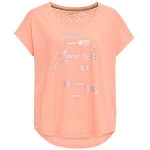 Damen Sport-Shirt mit Message-Print
