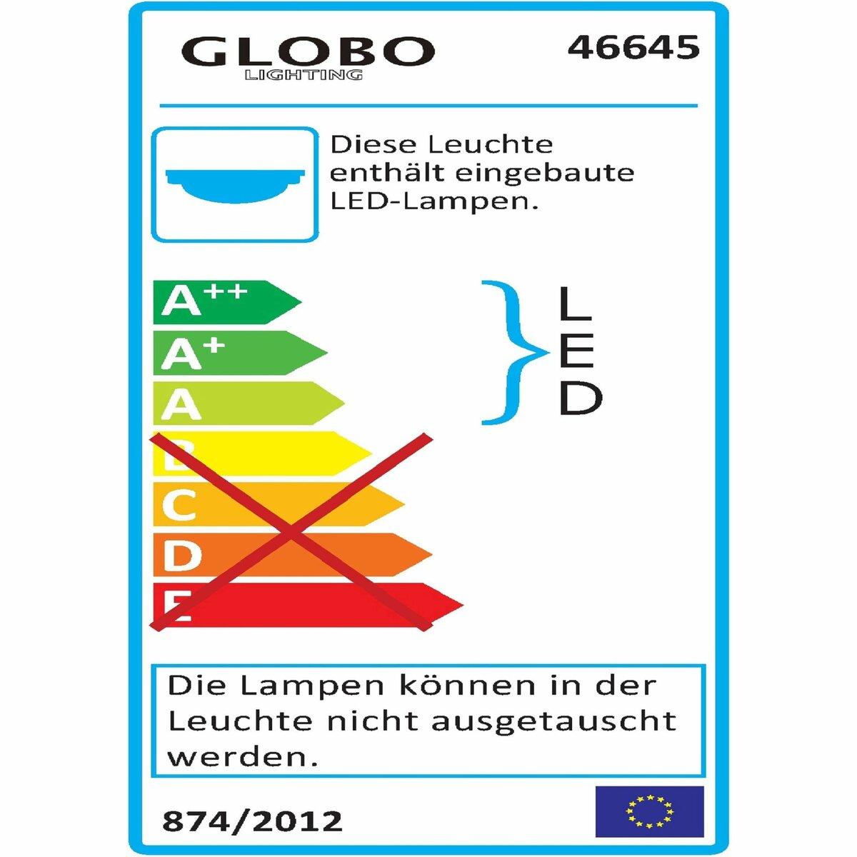 Bild 2 von Globo LED-Deckenleuchte   Cayenne