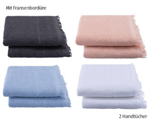 tukan 1 Duschtuch oder 2 Handtücher WECYCLED®