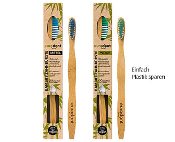 eurodont Bambus Zahnbürste