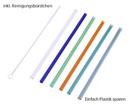Bild 2 von CROFTON®  Wiederverwendbare Trinkhalme aus Glas