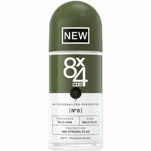 8x4 MEN Antitranspirant Roll-on No8 Wild Oak 4.98 EUR/100 ml