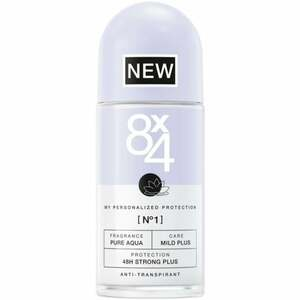 8x4 Antitranspirant Roll-on No1 Pure Aqua 4.98 EUR/100 ml