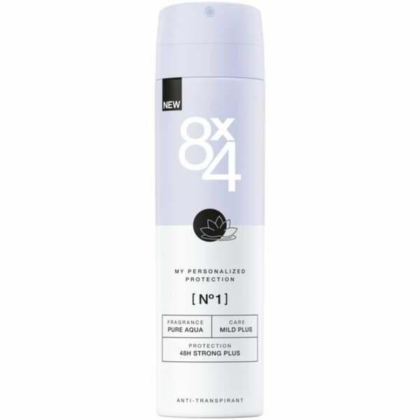 8x4 Anti-Transpirant Spray No. 1 Pure Aqua 1.66 EUR/100 ml
