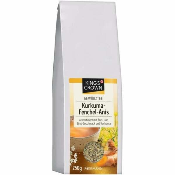 King´s Crown Gewürztee Kurkuma-Fenchel-Anis 796.00 EUR/100 ml