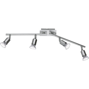 LED-Spot Nimes Nickel matt 4-flammig