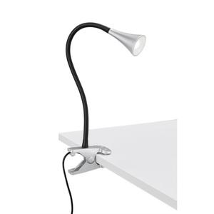 LED-Klemmleuchte Viper Silber 1-flammig