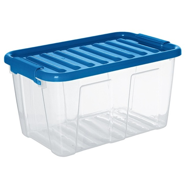 Home Box mit Deckel Trendfarben ca. 46 x 36 x 25 cm