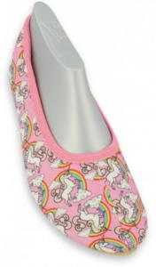 Gymnastikschuh Rainbow - rosa - verschiedene Größen