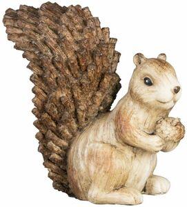Eichhörnchen - aus Polyresin - 10 x 5,5 x 10 cm