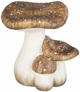 Pilze - aus Terrakotta - 14 x 11 x 15 cm
