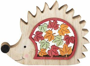 Igel - aus Holz - 15,5 x 2,5 x 11 cm