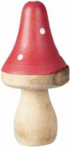 Pilz - aus Holz - 6 x 6 x 12 cm