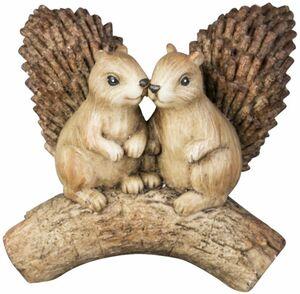 Eichhörnchen - aus Polyresin - 13 x 7,5 x 12,5 cm