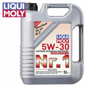 Motorenöl Longlife III 5W-30 5 Liter