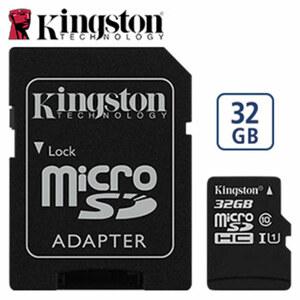 microSDXC-Karte • mit beiliegendem Adapter verwendbar als SDXC-Karte • Class 10 UHS-I