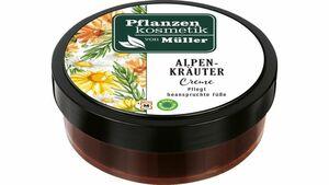 Pflanzenkosmetik von Müller Alpenkräuter Fußcreme