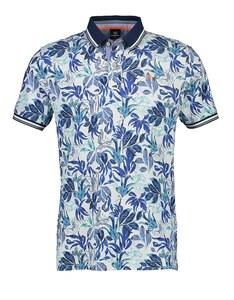 Lerros - Kurzarm Poloshirt im Tropical Design