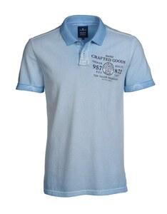 TOM TAILOR - Jersey-Poloshirt mit Wascheffekt