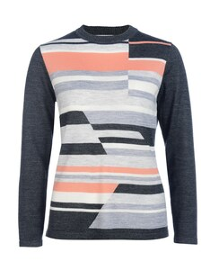Malva - Pullover mit Intarsienmuster