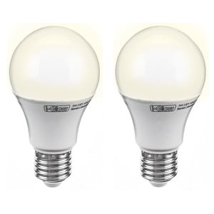 I-Glow LED-Birne, dimmbar, E27, 11W - 2er Set
