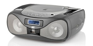 Dual DAB+/CD-Boombox P160 - schwarz