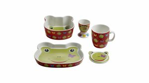 MAXWELL & WILLIAMS Kindergeschirr-Set Frosch Design