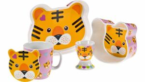 MAXWELL & WILLIAMS Kindergeschirr-Set Tiger