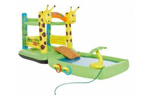 Hüpfburg und Spielpool Giraffe