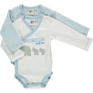 Baby 2er-Pack Wickelbodys