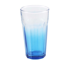 Glasbecher 315 ml in blau