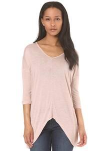 MAZINE Carmel V-Neck - Langarmshirt für Damen - Pink