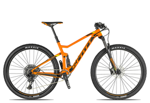 Scott Spark 960 2019 | 21 Zoll | orange/black/lime