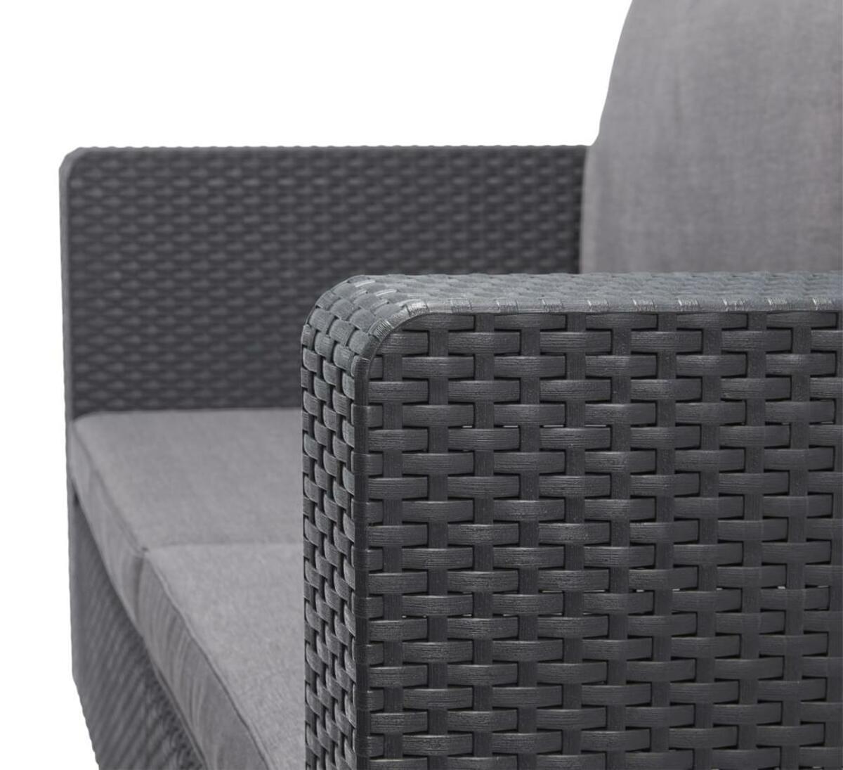 Bild 2 von Salta Lounge 2-Sitzer-Sofa Graphitgrau