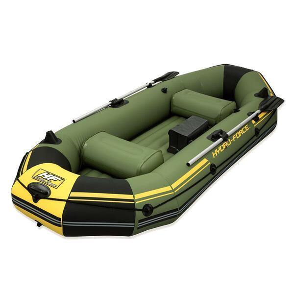 Bestway Hydro-Force Sportboot Marine Pro für 2 Erwachsene + 1 Kind 291 x 127 x 46 cm