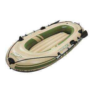 Bestway Hydro-Force Schlauchboot-Set Voyager 300 für 2 Personen 243 x 102 x 31 cm