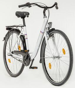 Zündapp City Damen Stahl-Cityrad, 26 Zoll, weiß