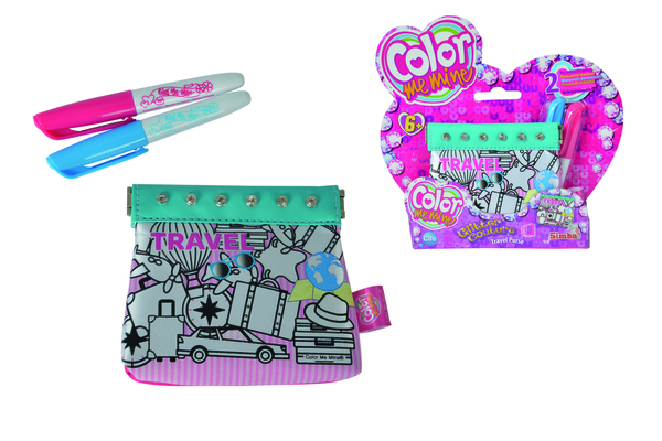Simba CMM Glitter Couture Travel Purse Geldbörse; 106374181