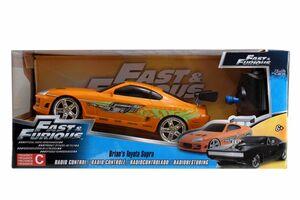 RC Fast & Furious 1995 Toyota Supra-Orange 1:24