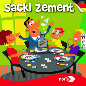 Noris Spiele Sackl Zement; 606121479