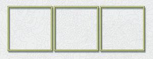 Noris Spiele Malen nach Zahlen - Alurahmen Tripty. Gold 120 x 40 cm; 605150706