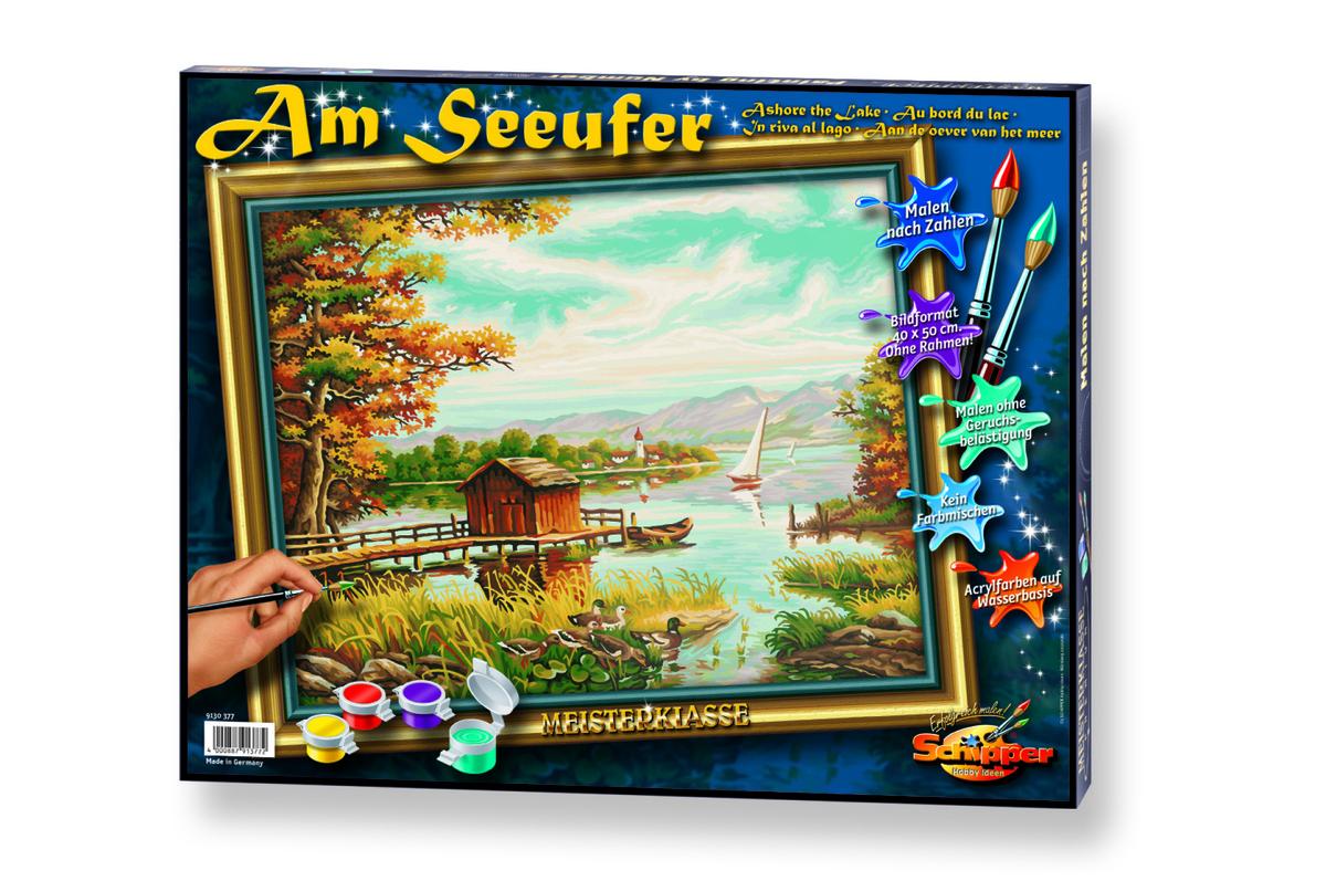 Bild 1 von Noris Spiele Malen nach Zahlen - Am Seeufer; 609130377