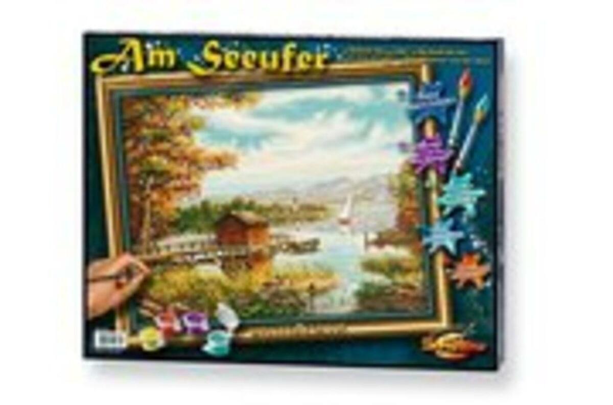 Bild 4 von Noris Spiele Malen nach Zahlen - Am Seeufer; 609130377