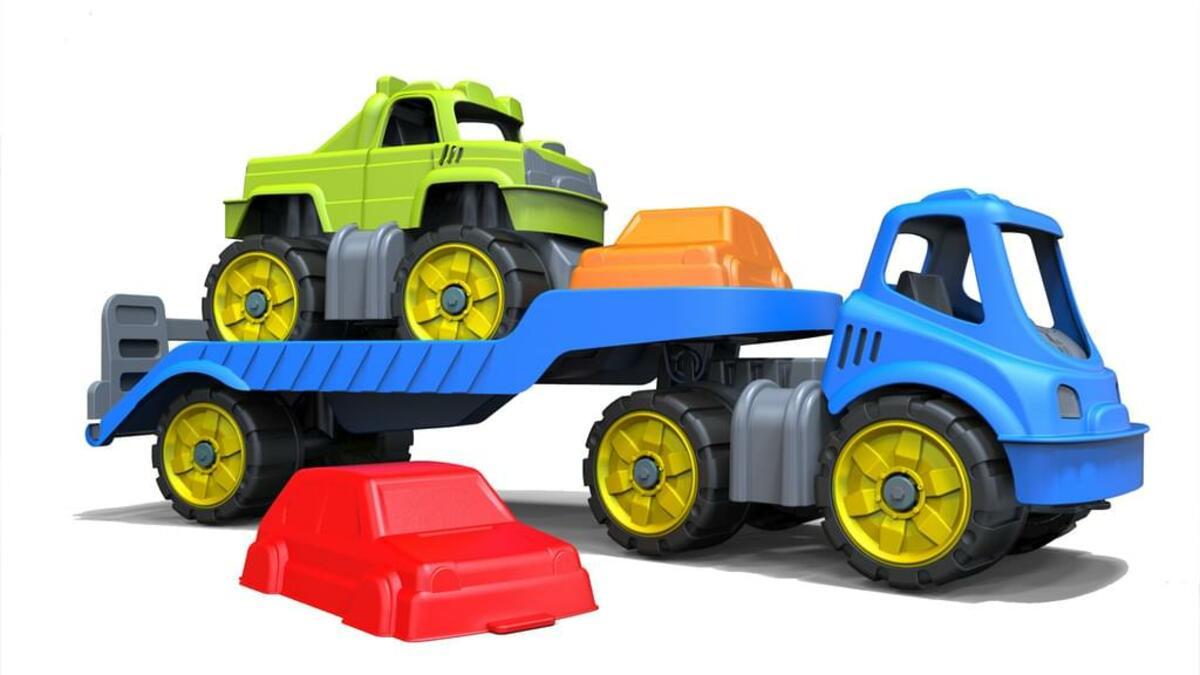 Bild 2 von BIG Power-Worker Mini Monstertruck-Set