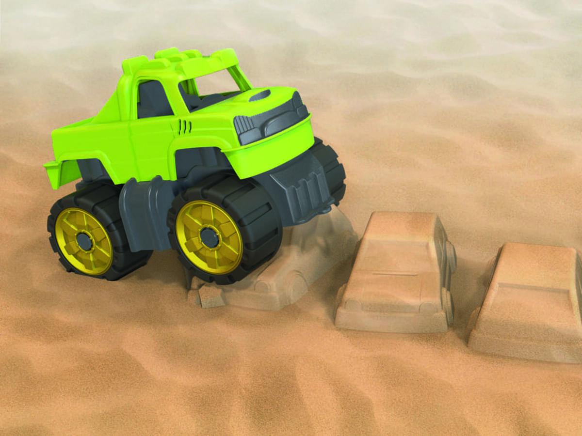 Bild 4 von BIG Power-Worker Mini Monstertruck-Set
