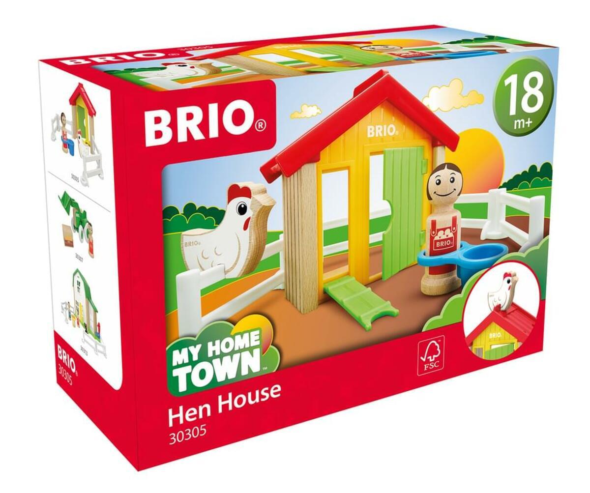 Bild 3 von BRIO Hühnerhaus; 30305