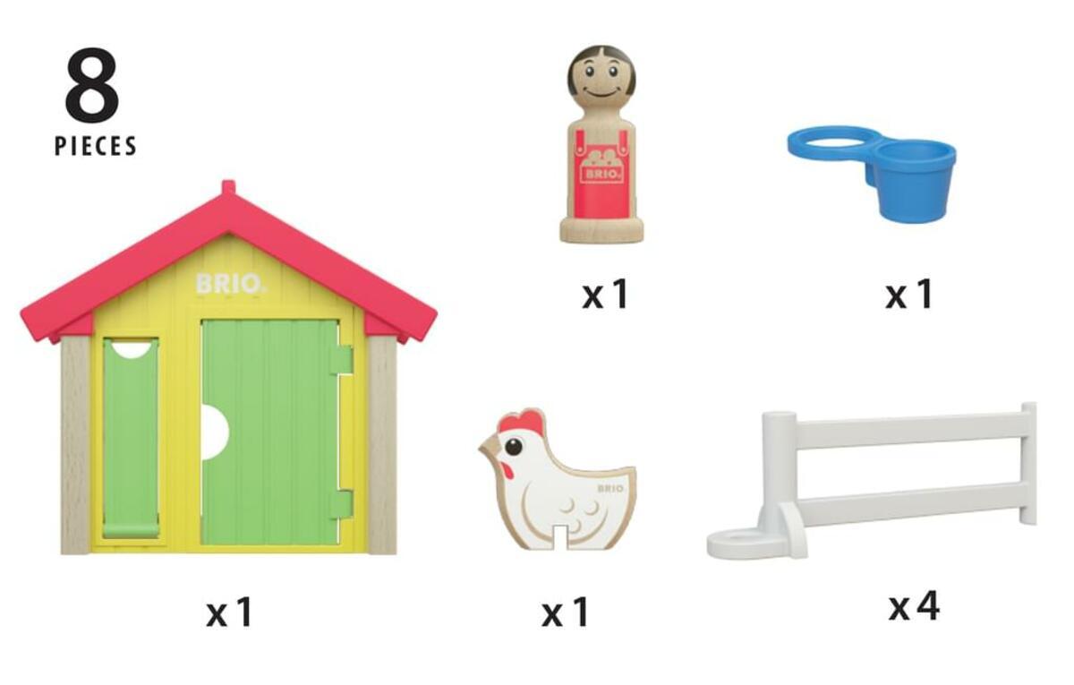 Bild 5 von BRIO Hühnerhaus; 30305