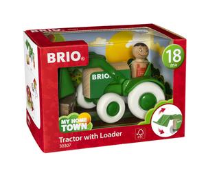 BRIO Traktor mit Frontlader; 30307